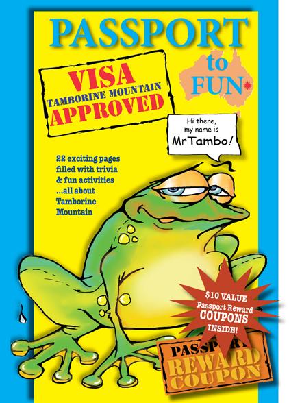 Passport to Fun Activity BOOK