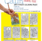 Travel-sized Colouring Calm