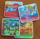Cartoon coasters